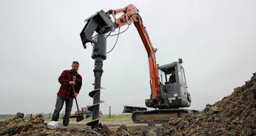 Nieuw Digga hydraulische grondboor
